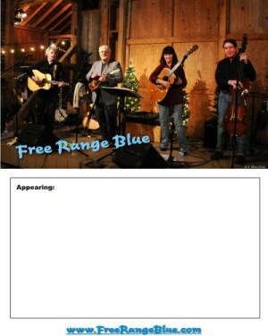 Free Range Blue Poster 300